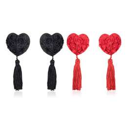 Wholesale Adult Christmas Party - Heart Fetish Lace Mask Flirt Sex Love Adult Games Erotic Products Party Masks Sex Toys for Couples Sexy Lingerie Black Red