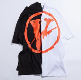 Wholesale Friends Sleeve - palace new 2017 YEEZUS T-shirt men women high-quality 100% cotton clothing hip-hop gray T-shirt top Vigil V Abloh Vlone friends shirt
