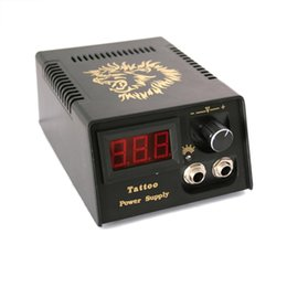 Wholesale Tattoo Power Supply Prices - Wholesale-Professional Tattoo Power Supply Digital LCD Power Supply Supply For Tattoo Machine Guns On Wholesale Price Free Shipping
