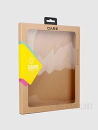Evrensel Perakende Ambalaj Kutusu Özelleştirilmiş Şirket Logosu Lüks Kağıt Ambalaj iPad 2/3/4 iPad mini 234 Deri Kılıf Kapak nereden ipad mini kutu perakende ambalaj tedarikçiler