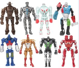 2019 data di azione data in diretta Real Steel PVC Action Figure Collection Model Toys Giocattoli classici Dolls Christmas by DHL