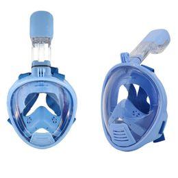Wholesale Girl Studies - Wholesale- Kids Full Face Snorkeling Diving Mask Children Size Anti Fog Snorkel Sucba Study Swimming Equipment mergulho Boy Girl Masker