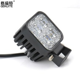 Wholesale Board Works - 2PCS DC12-24V 12W Work Light Waterproof Cool White High Power Spot light for Off-board Car Boat Worklight For SUV BMW Truck