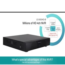 Wholesale 4ch Dvr Hdmi - LS-9004G-B Full HD 1080P CCTV NVR H.264 4CH NVR For IP Camera ONVIF HDMI Network Video Recorder 4 Channel NVR ann