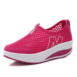 Wholesale medium documentary - The new spring and summer of 2017 was breathable shoes leisure sports shoes slope documentary net cloth shoes