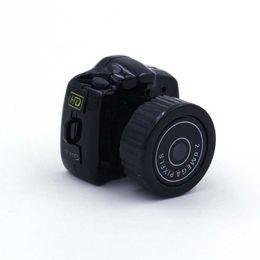 Wholesale Worlds Smallest Digital Camera - Spy Mini Camera Y2000 HD Webcam Video Voice Recorder Micro Cam The World Smallest Camara Hidden Digital Mini Camera