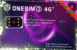 Wholesale Free Unlocking - Free DHL NEW ONESIM 3 Unlock for US T-mobile,AT&T, Fido, Japan AU Softbank, Docomo for ios 11.1.2