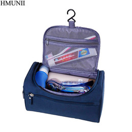 80bc7771296 HMUNII Ms men Large Waterproof Makeup bag Nylon Travel Cosmetic Bag  Organizer Case Necessaries Make Up Wash Toiletry Bag B1-05