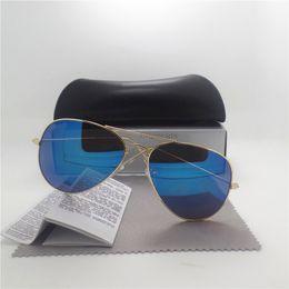 Wholesale Mix Box Fashion Accessories - Men Sunglasses Frame Brand Designer High Quantity Unisex Retro Eyewear Mirror Vintage Glasses accessories with All Case Box