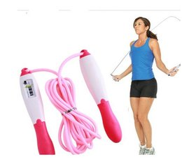 Wholesale Jump Rope Counter Wholesale - Automatic Digital Jump Counter Fitness Exercise Skipping Rope Jump Ropes