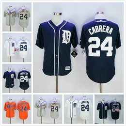 Wholesale Dark Tiger - Miguel Cabrera Jerseys 2017 Flexbase White Grey Orange Dark Blue Detroit Tigers Baseball Jerseys Stars and Stripes