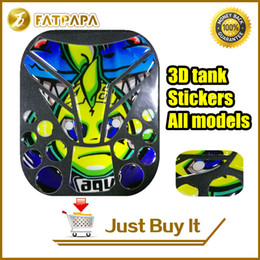 Wholesale Motorcycle Decals For Honda - Hot !!2017 new VR46 motorcycle bike fuel tank 3D stickers decals for Yamaha Honda Kawasaki Suzuki Ducati Triumph KTM TZ-02
