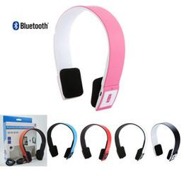 Galaxie anruf online-2017 drahtlose Bluetooth Kopfhörer Kopfhörer Stereo Eingebaute Mic Hände frei für callsmusic Streaming mit Mic FM TF Karte für iOS Galaxy HTC
