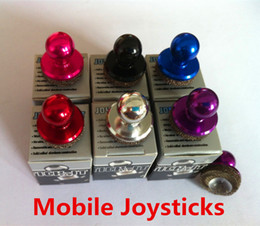 Wholesale Hot Ps2 - 2017 Hottest Mini Mobile Game Controller Mobile Joysticks for Over 4.7 inch Universal Mobile Phone devices use Mini joysticks DHL Free