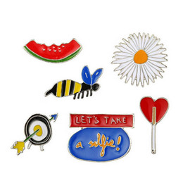 Wholesale Badge Jewelry - New Arrival European Brooches Collar Brooch Pins Set Jewelry Badge Accessories Clothing Decoration Wholesale
