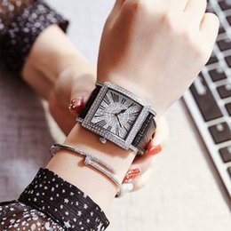 Wholesale Buyer Price - 2017 AAA Brand Cheap Price High Quality Watches Splendid Luxury Watch Leather Quartz Dropship Buyer Selling Crazy Women Lady OL Full Diamond