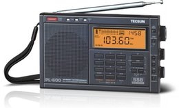 Wholesale Tuning Pl - Wholesale-New TECSUN PL-600 Digital Tuning Full-Band FM MW SW-SBB AIR PLL SYNTHESIZED Stereo Radio Receiver