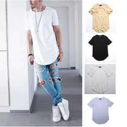Wholesale Men S Crop - Men Fashion Summer Style T shirt Kanye West T-shirts Fear of god T-shirt Season 3 Justin Bieber Crop Top Hip Hop Swag Tees