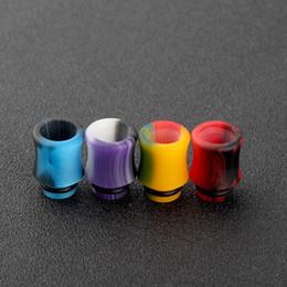 Wholesale E Cigarette Colorful Drip Tips - 2017 Newest 510 Acrylic Drip Tips Wide Bore Drip Tip Colorful Atomizer Mouthpieces Fit 510 Atomizers E Cigarette Free Ship