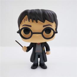 Wholesale Harry Potter Box Set - BONTOYSHOP FUNKO POP 1Pcs Set Hot Sale Movies Harry Bon Potter 01# PVC 10CM Action Figure Model With Original Box Toy
