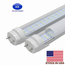 Wholesale Leds T8 - LED Tube T8 28W 4ft 288 leds double rows replace 50W fluorescent bulb 4 feet AC85-265V UL CE FCC CSA 25++