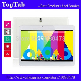 Wholesale Android Tablet 16g - Wholesale- 10 inch tablet pc quad Core MTK6582 3G GPS bluetooth 2G 16G Android 4.4.2 Dual Camera 2 SIM Card Slot