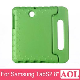 """Wholesale Galaxy Tab Cartoon - For Samsung Galaxy Tab S2 T715 T710 Stand Cover 8.0"""" 3D Cartoon Non-toxic Kids Friendly EVA Soft Thick Foam Shockproof Case"""