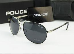 Wholesale Police Polarized Sunglasses Men - 2017 Cool men sunglasses police sunglasses car driver eyewears big frame with original case polarized sunglasses free shipping