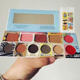 Wholesale Eyeshadow Blush Lip Gloss - 11 Color Lip Gloss Blush Eyeshadow Pallete Makeup Cosmetics 11 Colors Eye shadow+lip gloss+Blush makeup set