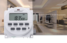 Wholesale Dc List - SINOTIMER 220 - 240V AC   12V DC 7 Days Programmable Timer Switch with UL listed Relay inside and Countdown Time Function +B