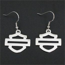Wholesale Styles Alphabets - 3pairs lot wholesale new polishing biker style unisex earrings 316l stainless steel fashion jewelry motorbiker earrings