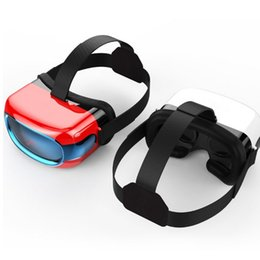 Wholesale Video Glasses Games - Wholesale- 2016 NEW VR Glasses All In One 3D Glasses Virtual Reality Support 3D Movie Games Video VR Box RK3126 Quad Core Android5.1