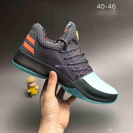 Wholesale Cactus Fabric - Free Shipping Harden Vol 1 Cactus Kid Basketball Shoes Mens harden vol 1 Pioneer BHM Black History Month high quality Size 40-46