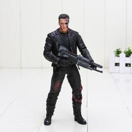 Argentina The Terminator T-800 Arnold Schwarzenegger 18 cm PVC Figura de acción Colección Modelo juguetes buen regalo juguetes para niños con bolsa de opp cheap arnold figure Suministro