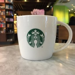 Wholesale Money Cup - Starbucks classic mug goddess money shop with white ceramic cup LOGO new bone china cup of coffee cup