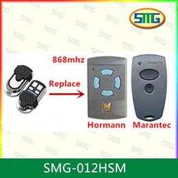 Wholesale Two Button Remote Control - Wholesale- Marantec Digital two button 868 MHz garage door & gate remote control keyfob Duplicator
