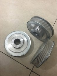 Wholesale Pulleys Machines - Customized design quality aluminum alloy pulley, 2mm pitch 2GT type 100teeth wheel for CNC machine, Factory wholesale price