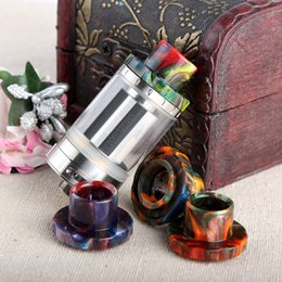 Wholesale Electronic Cigarettes Drip Tips - Newest Epoxy Resin Drip Tips For Cleito 120 Atomizer Tank Best Cleito 120 Mouthpiece Colorful High quality Electronic Cigarette Free Ship
