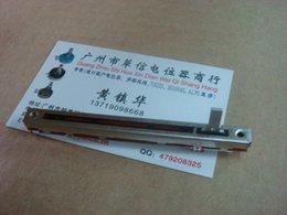 Wholesale Fader Mixer - Wholesale- [BELLA]ALPS 8.8 cm mixer fader potentiometer B10K Single--10PCS LOT