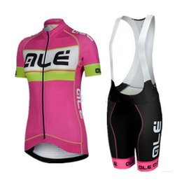 Wholesale Men Cycling Wear Green - 2017 Ale Women's Cycling Jersey Set Short Sleeves Bicycle Cycling Clothing Mtb Bib Shorts Bike Wear Shirts Maillot Ropa Ciclismo C2920