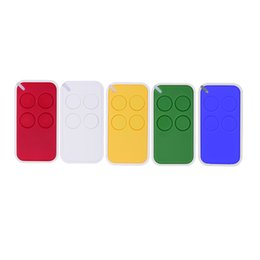 Wholesale Garage Remote Control Free Shipping - Wholesale- Free shipping 10PCS 433.92MHz RF Wireless Car Remote Control Duplicator Copy Code Garage Door