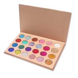 Wholesale Dark Shadows Makeup - Fast Free DHL Shipping ! New Stock!! CLEOF Cosmetics Glitter Eyeshadow Palette 24 Colors Makeup Eye Shadow Palette