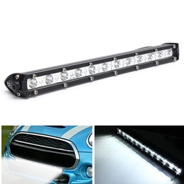 Wholesale cree offroad lights - 13 Inch 36W 16200 LM White CREE LED Spot Combo Lamp Driving Offroad Work Light Bar CLT_41X