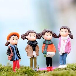 Wholesale Wholesale Miniature Gardening - Fairy Garden Decor Miniature Friends Accessories & Hand Painted Figurines Premium Quality Kit For Outdoor or House Decor