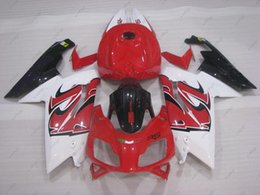 Wholesale Rs 125 - Full Body Kits RS 125 2006 Body Kits for Aprilia RS125 2009 Red White Bodywork 2008 2006 - 2011