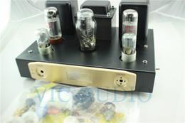 Wholesale Audio Amplifier Tubes - EL34B Single Ended Tube Amplifier 5Z3P Rectifier Tube 6N9 Vacuum Tube Pwer Amplifier Hifi Stereo Audio DIY Kit