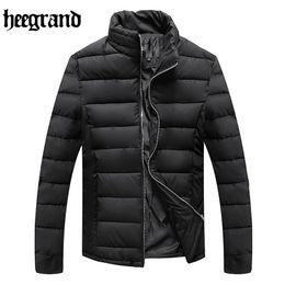 Wholesale Korean Jackets Men Sale - Wholesale- HEE GRAND Hot Sale Man Winter Korean Style Popular Cotton Coats Men's Fashion Casual Slim Jacket Coat Male Warm Overcoat MWM1525