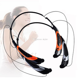 Wholesale Dhl Speakers - HBS 760S Bluetooth Headphones HBS760 Sport Bluetooth Speaker Neckband Earphone Bluetooth 4.0 With Retail Package DHL Free Shipping