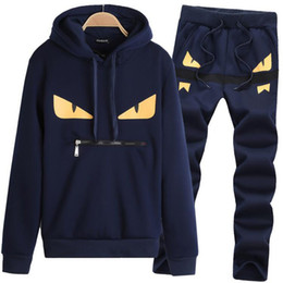 Wholesale Men Fashion Slim Suits - Wholesale Mens Hoodies And Sweatshirts Sweat Suit Brand Clothing Men's Tracksuits Jackets Sportswear Sets Jogging Suits Hoodies
