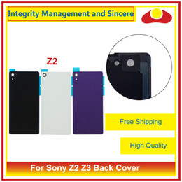 Wholesale Housing Xperia - High Quality For Sony Xperia Z2 L50W D6502 D6503 and Z3 D6603 D6603 Back Cover Housing Battery Cover Door Rear Cover Chassis